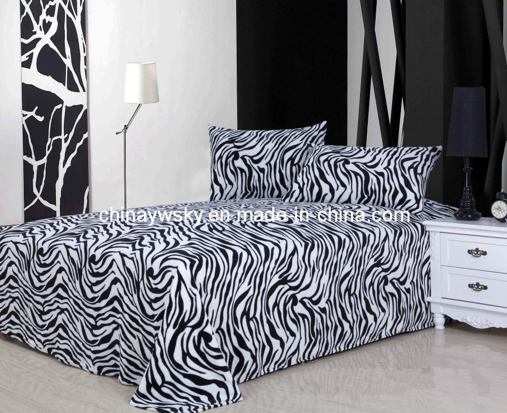 Super Soft Printed Coral Fleece Blanket