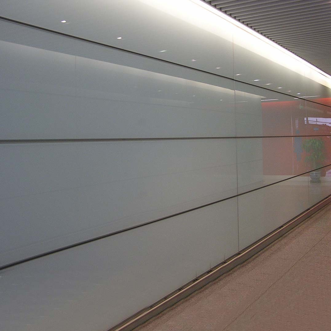 Glass Interior Wall Cladding : China glazed glass honeycomb panel building for