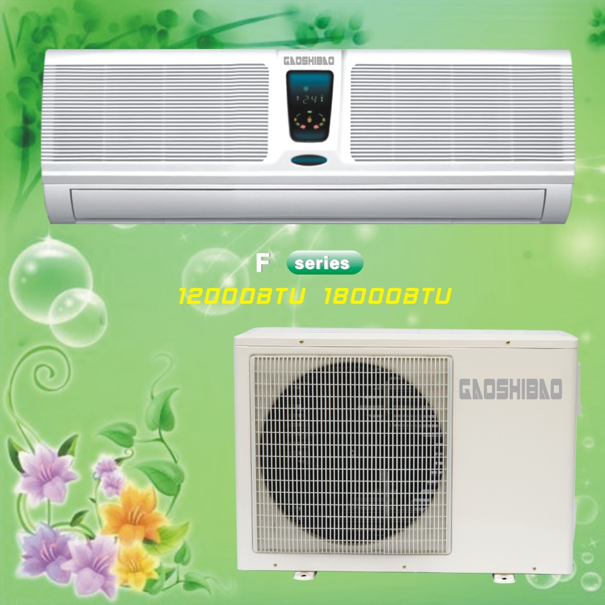 Home Split Air Conditioner 18000BTU Air Conditioning Split Units #B8AD13