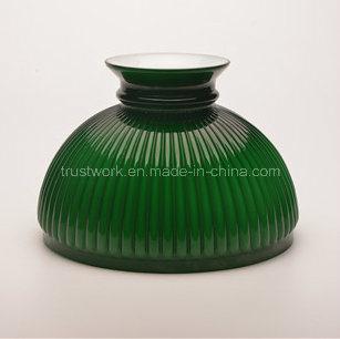 Handblown Natural Color Vintage Oil Lamp Shade