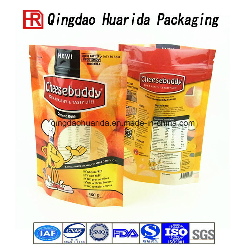 Custom Logo Printed Snack Chips Plastic Food Packaging Bag
