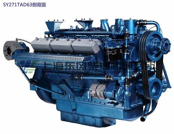 Cummins, 12 Cylinder, 455kw, , Shanghai Diesel Engine for Generator Set,