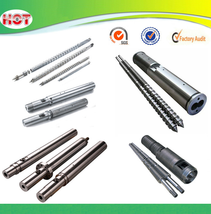 Screw and Barel for Plastic Extruder Machine