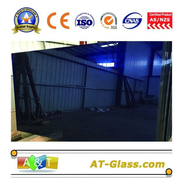 4mm, 5mm, 6mm, 8mm, 10mm Tinted Glass/Reflective Glass Used for Curtain Wall /Coated Glass/Building Glass/Dark Blue, Dark Green, F-Green, Bronze, Dark Gray, etc