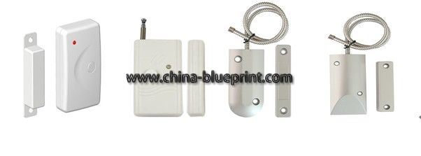 Door Sensor, Alarm Wireless Roller Shutter Magnetic Contacts Alarm