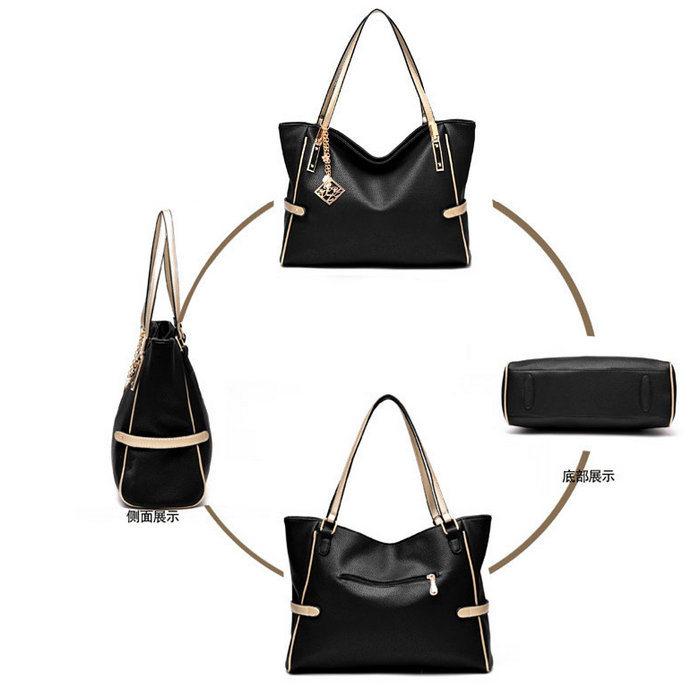 2016 Fashion Classical Style PU Leather Lady Handbag