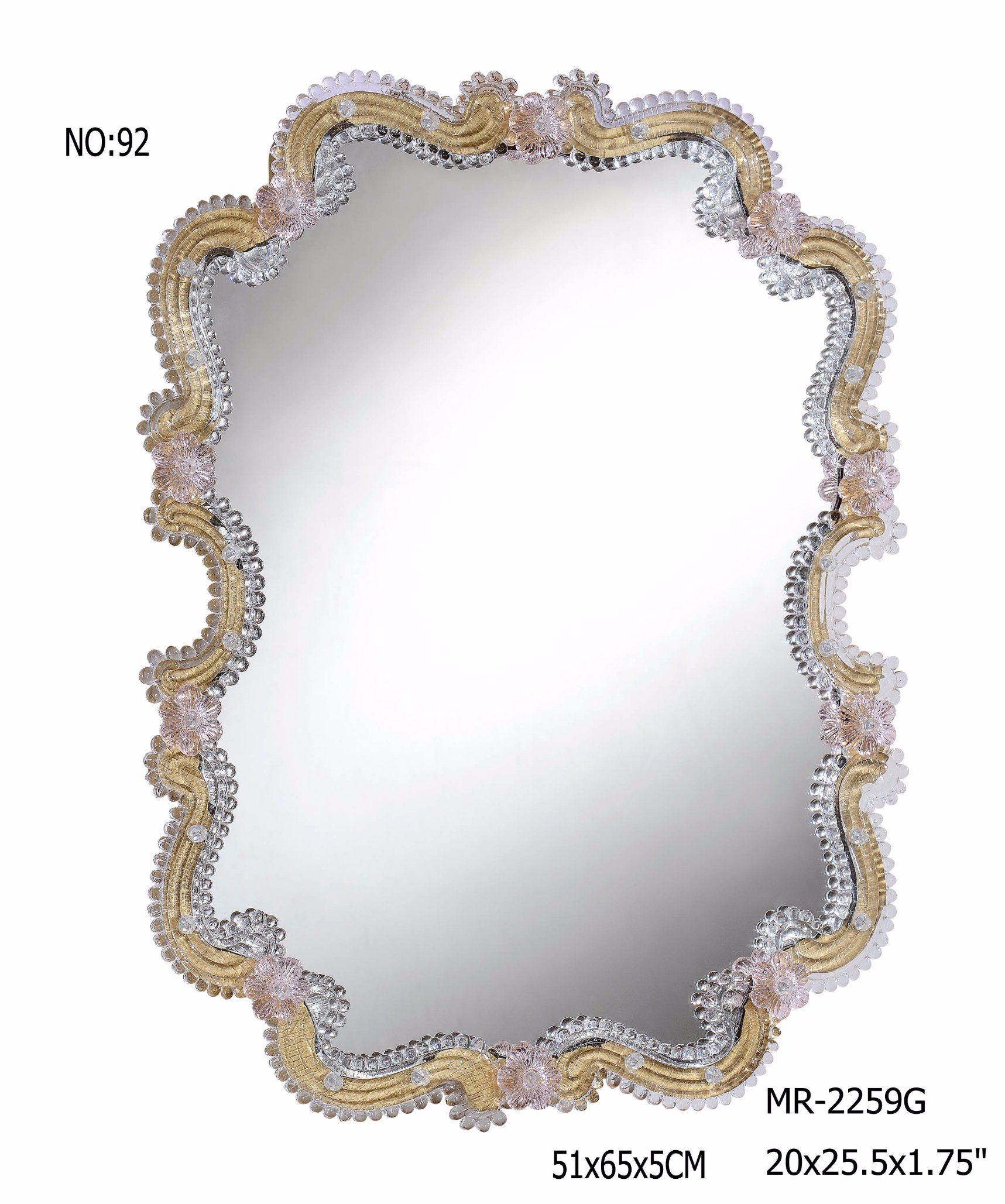 2017 Dressing crystal Decor Mirror