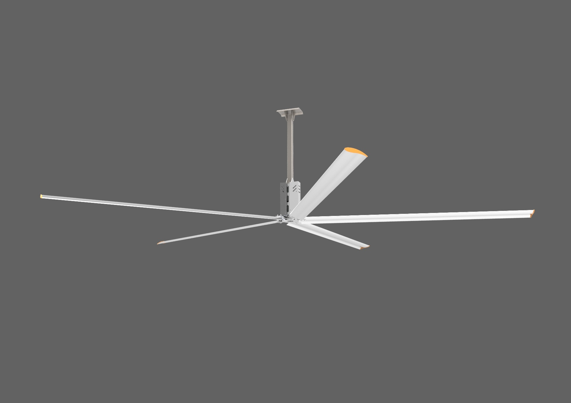 6.2m (20.4FT) Customized Maintenance Industrial Free Hvls Big Ceiling Fan