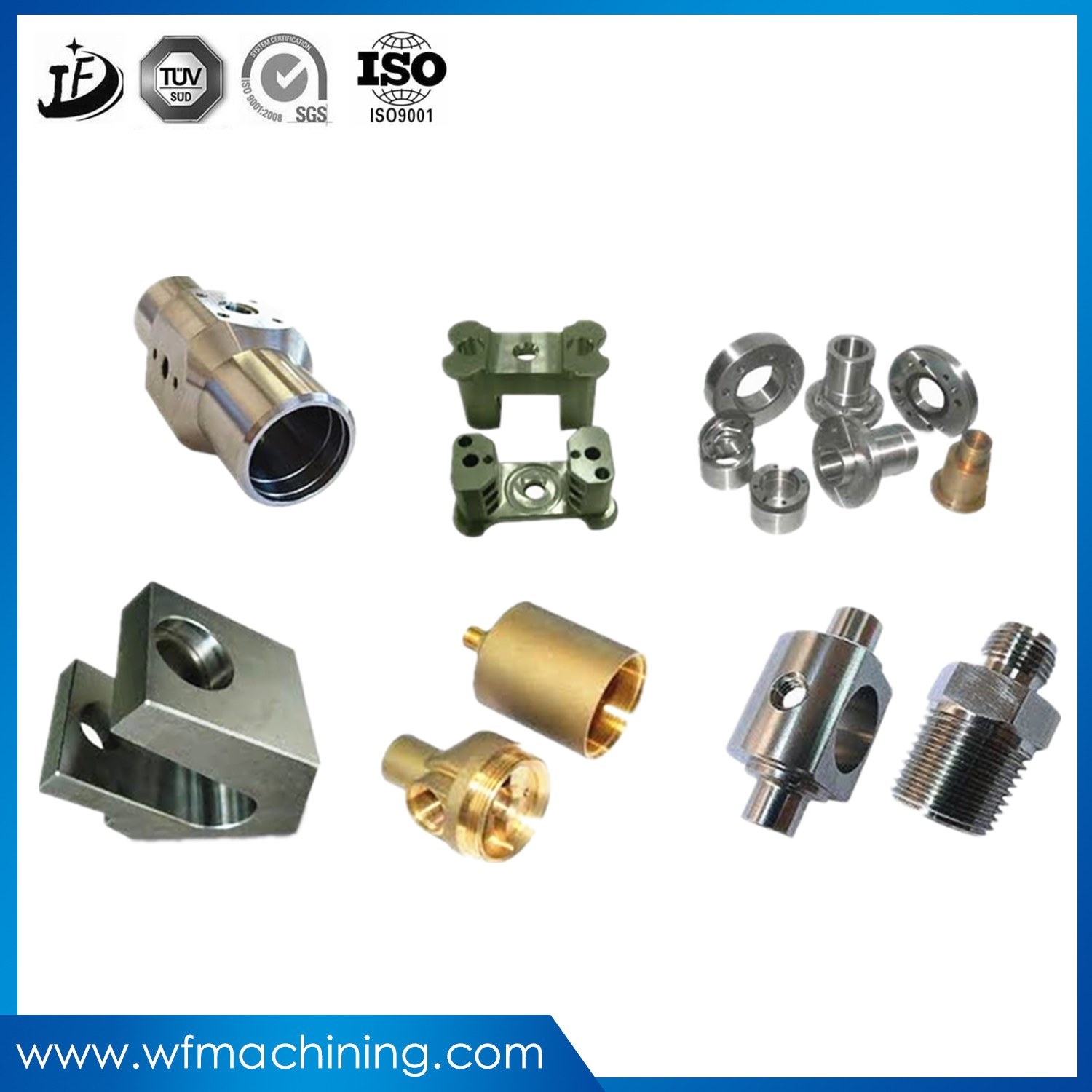 OEM Aluminum/Stainless Steel/Cooper/Brass CNC Lathe Milling Machining Part of Sewing Machine