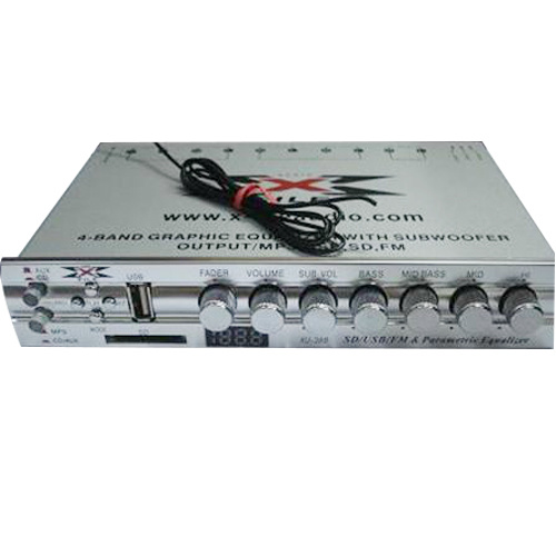 Graphic Car Audio Equalizer - 2