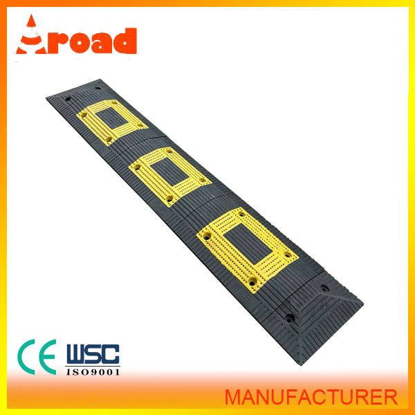 Hq PVC Material Plastic and Rubber Speed Hump Speed Bump