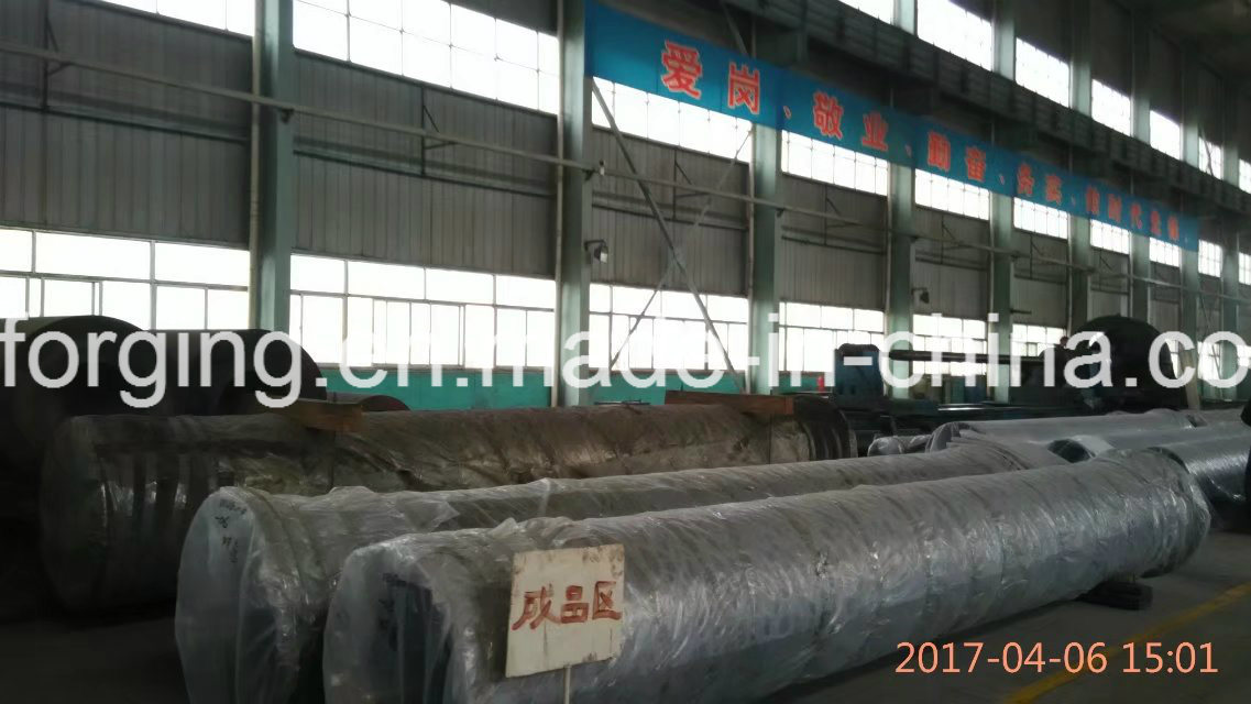 Pipe Mould Deep Hole Forged Part by Free Forging Process