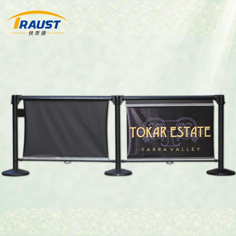 Queue Line System Roller Banner