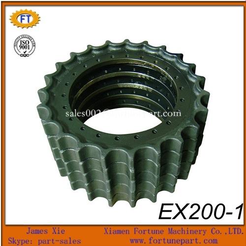 Hitachi Excavator Undercarriage Parts Gear Rim Sprocket