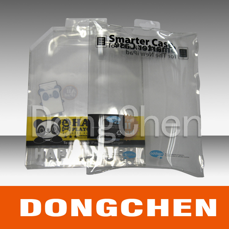 Transparent Plastic Package Box/ Gift Box/Soft Bag (DC-BOX003)
