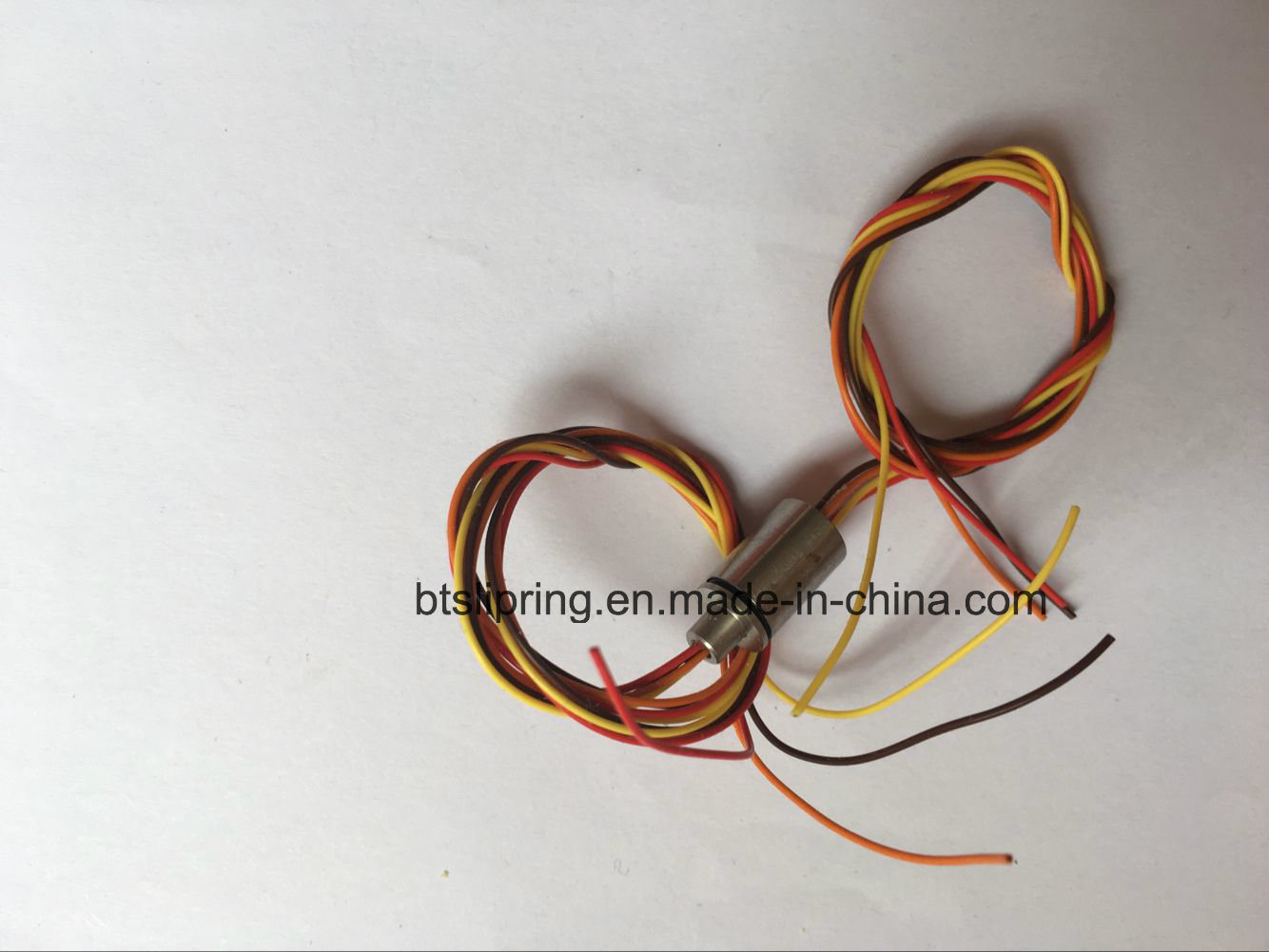 Od 8mm 2~6 Wires Miniature Capsule Slip Ring with ISO/Ce/FCC/RoHS