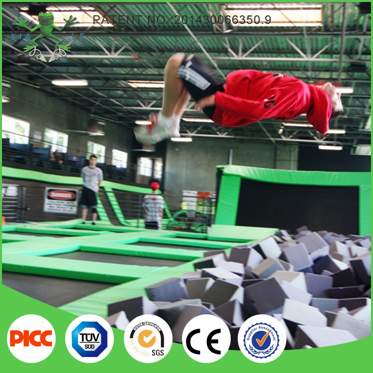 Gymnastic Professional Indoor Trampoline Manufacturer