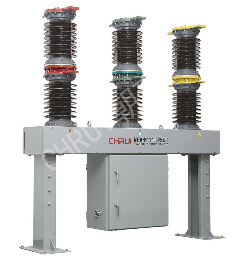 Zw7a-40.5 Hv Vacuum Circuit Breaker Outdoor Type CT Outside