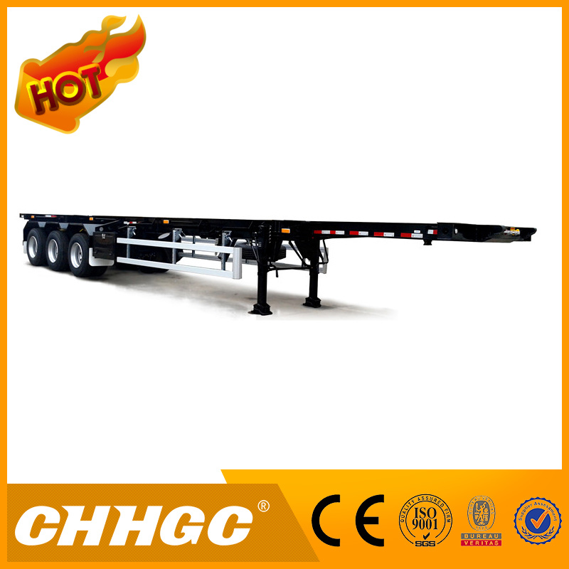 3 Axle 40t High Tensile Steel Light-Type Skeleton Trailer