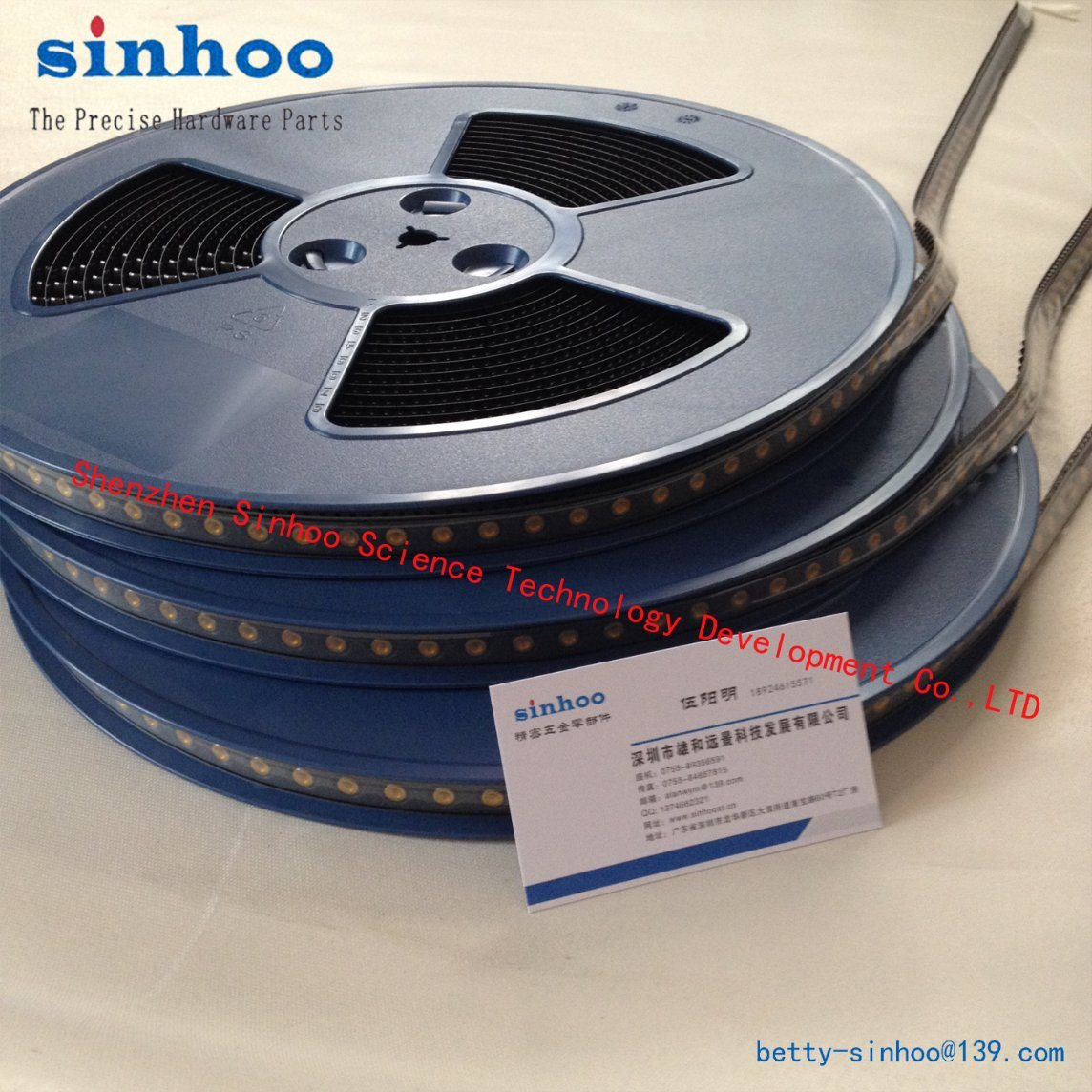 Smtso-M3-3et, SMT Nut, Weld Nut, Round Nut, Pem Reel Package, SMT, PCB, Steel, Reel
