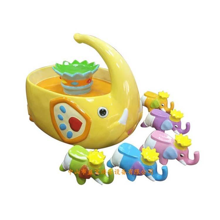 2017 New Design Children Toy Fiber Glass Amusement Fishing Pool for Playground (FP015-Yellow)