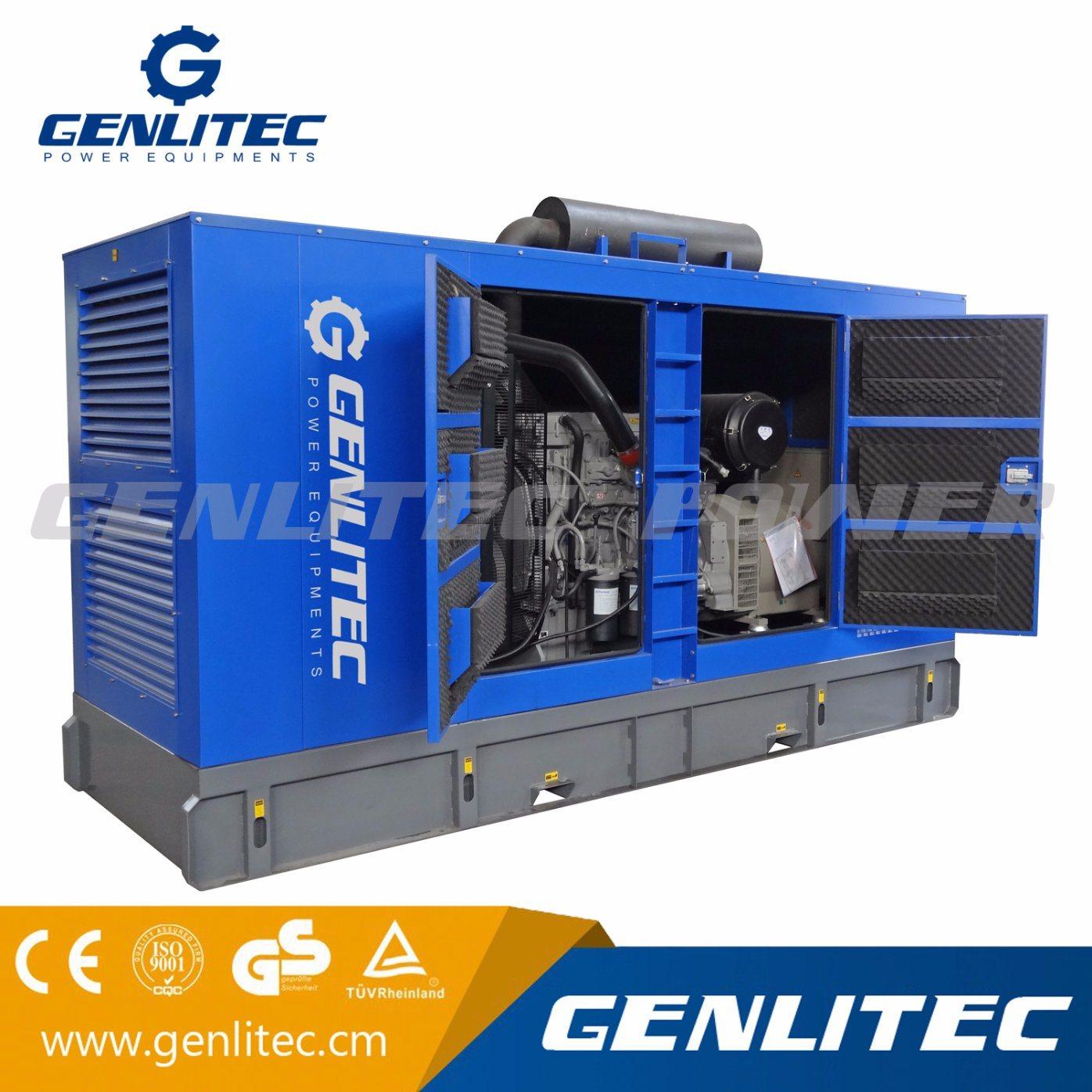 China Original UK 350 kVA Silent Diesel Power Generator Set with