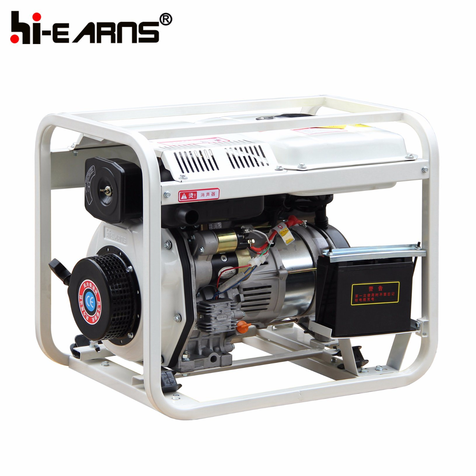 China 3kw Air Cooled Open Frame Type Diesel Generator Set DG3000E
