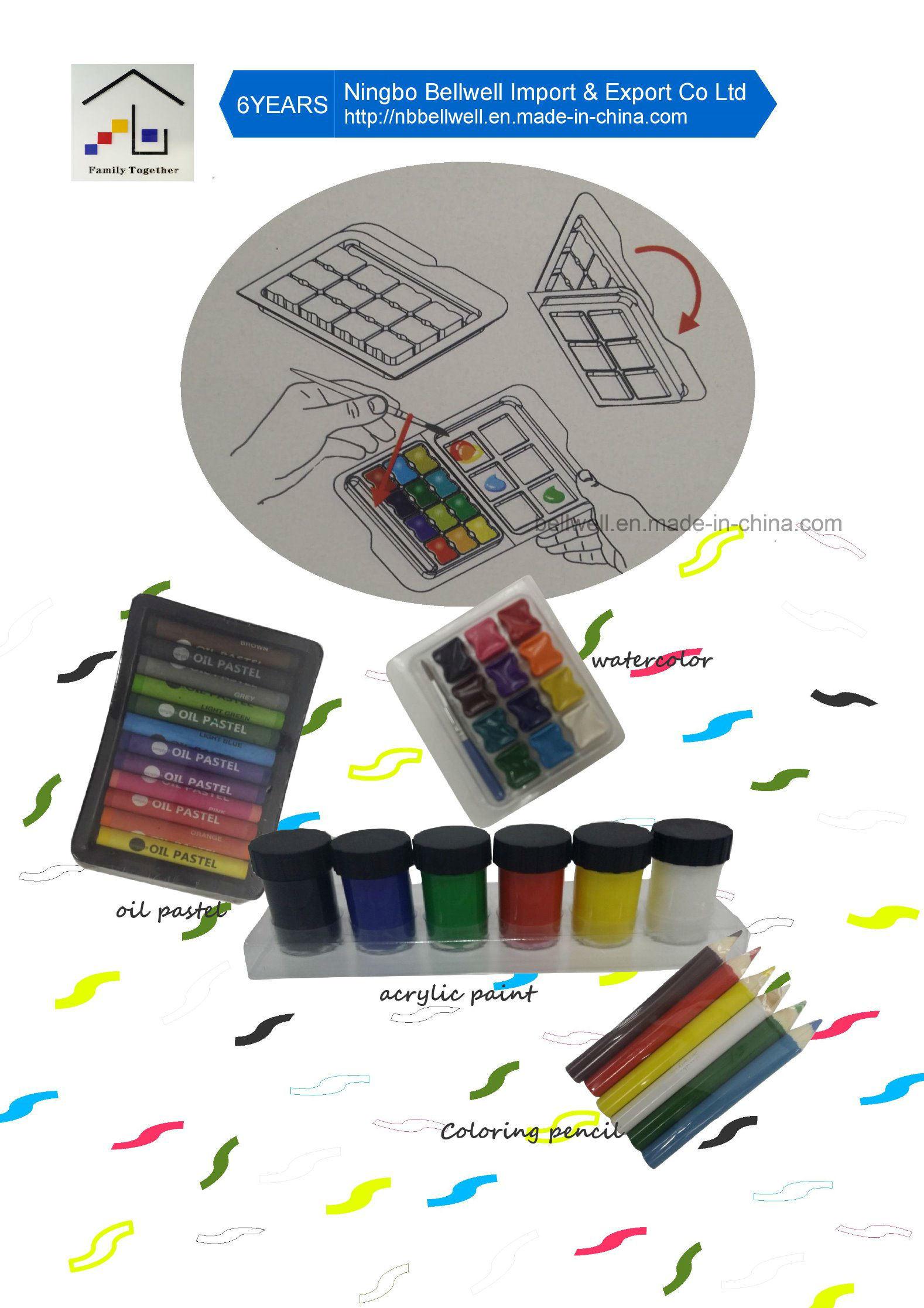 Stationery Set 53 PCS Art Set Watercolor Brush Set