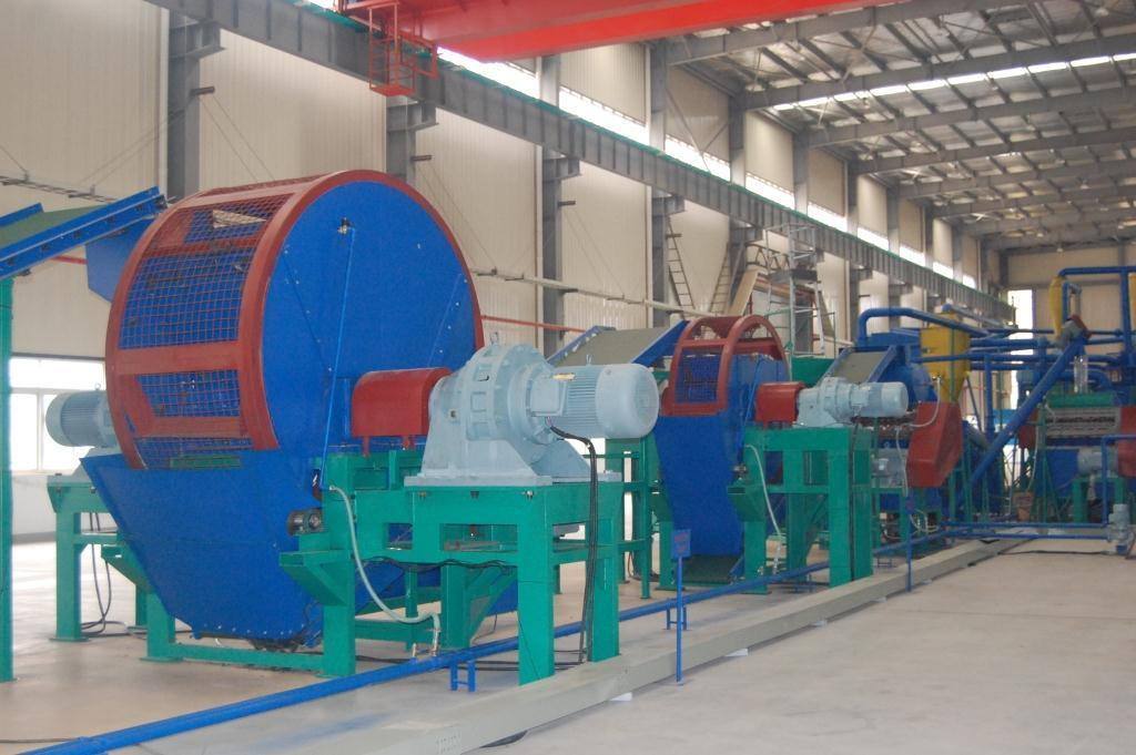 China tire recycling equipment china waste tire for Tractor tire recycling