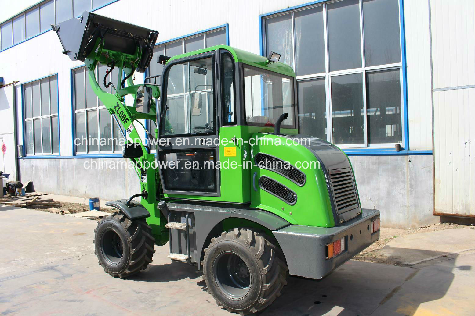 800kg Load Zl08 Small Cheap Wheel Loader