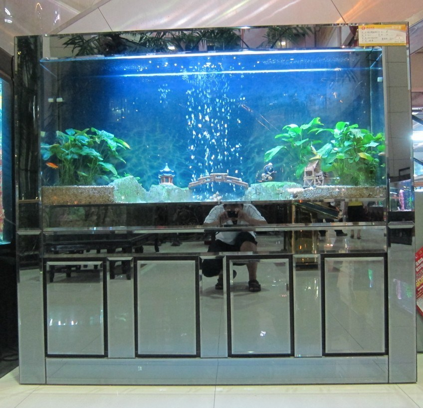 Aquarium glass deep starphire overflow glass aquarium for Fish tank top