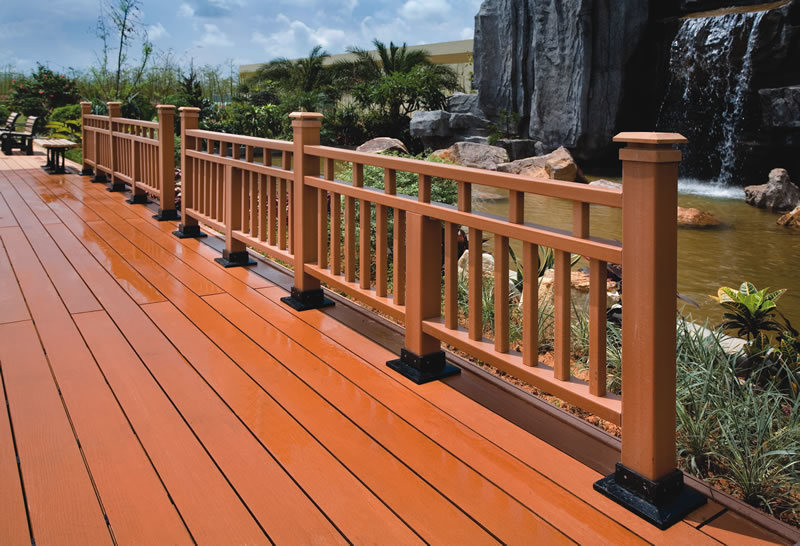 Wood Decking Plastic Wood Decking