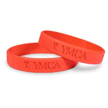 China debossed silicone wristband china silicone bracelet silicone