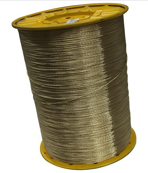 Brass Coated Radial Tire Steel Cord, Steel Wire (2*0.35NT/HT)