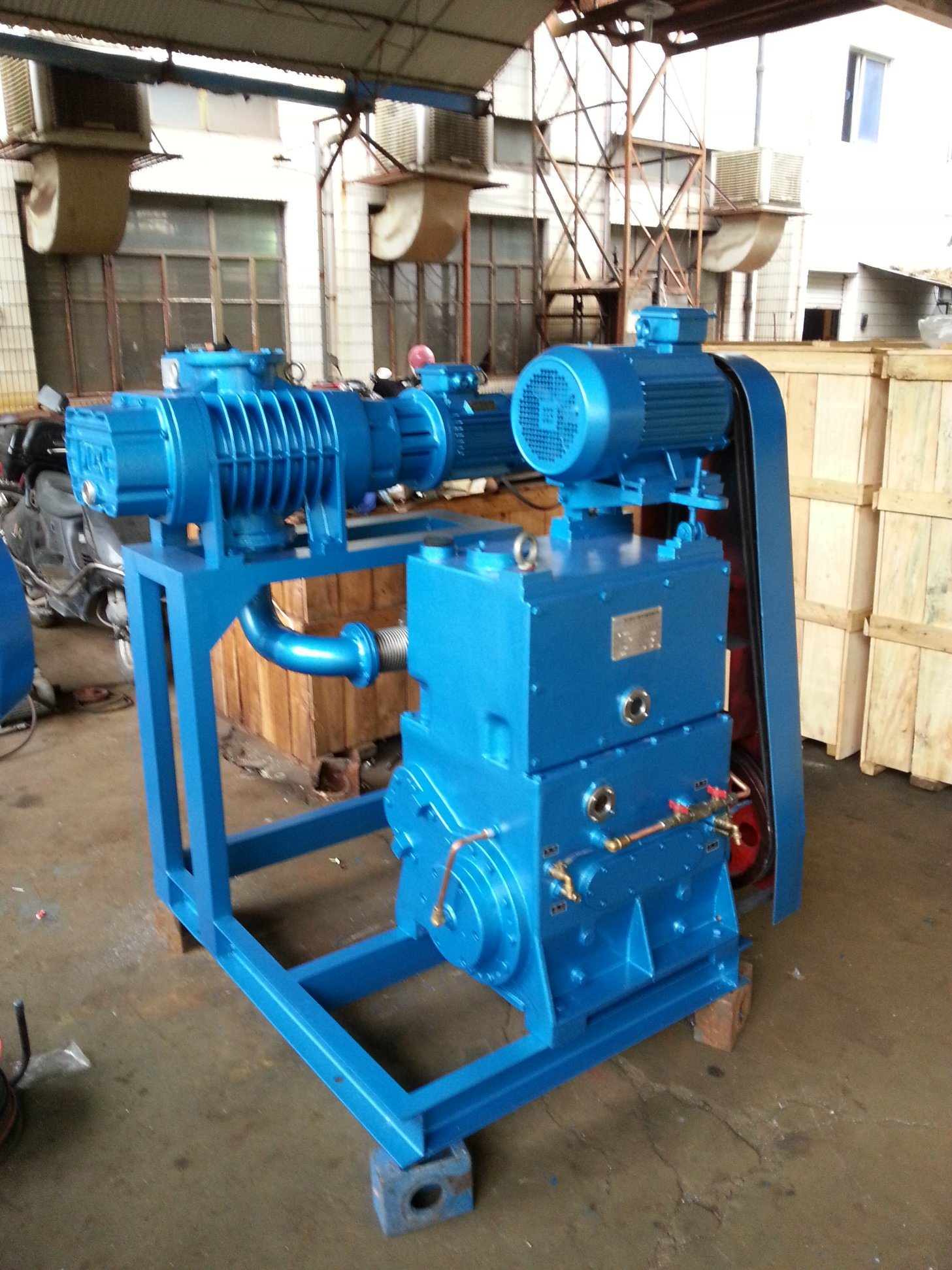 Roots Rotary (slide-valve) Cacuum Pump Series