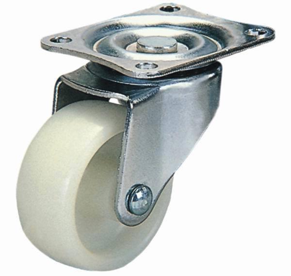 75mm Swivel Nylon Furniture Caster Wheel (White)