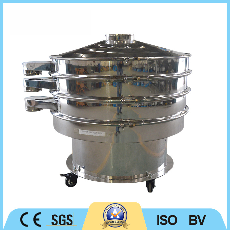 Two Layers Stainless Steel Screening Machine Rotary Vibrating Screen