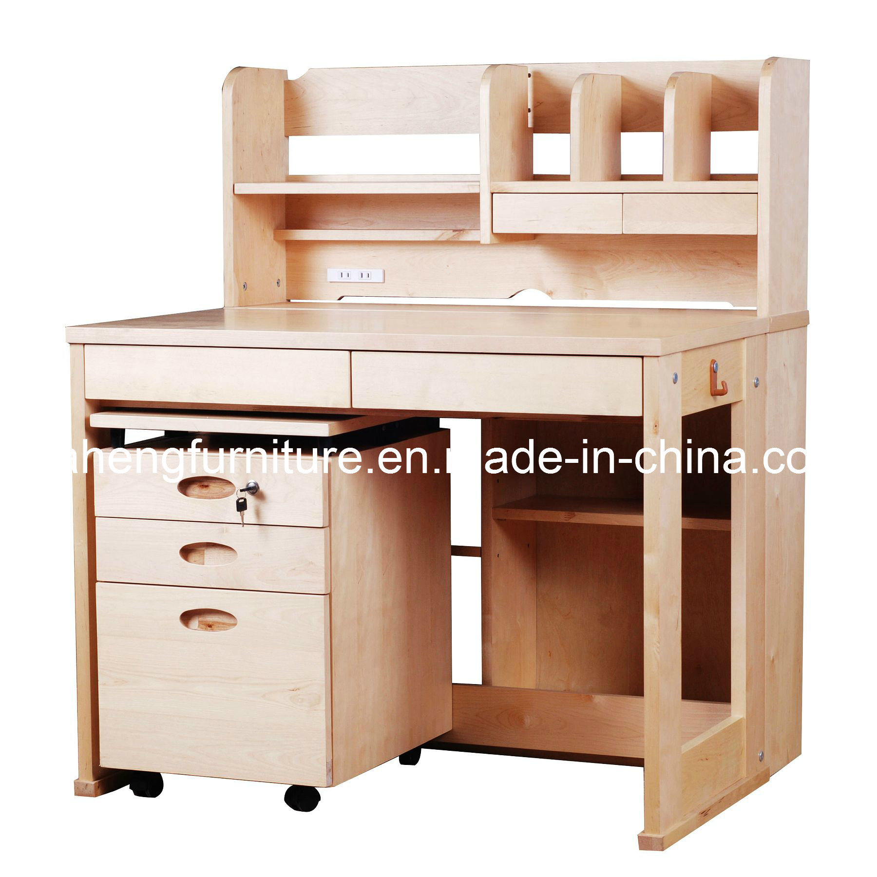 China Study Table Set (STS001)  China Study Table Set, Wooden  1800 x 1800