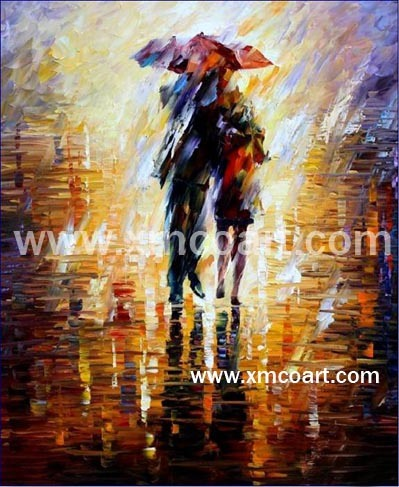 Painting Image on Oil Painting Modern Oil Painting   Large Image For Knife Oil Painting