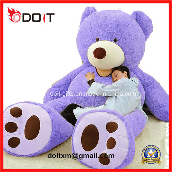 Custom Made 9FT Purple Giant Teddy Bear with Good Price