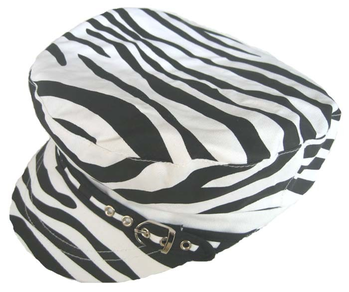 Zebra design leisure hat hat2381