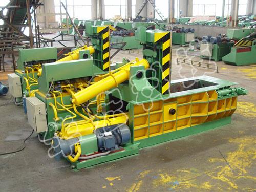 Hydraulic Scrap Metal Baling Press Machines