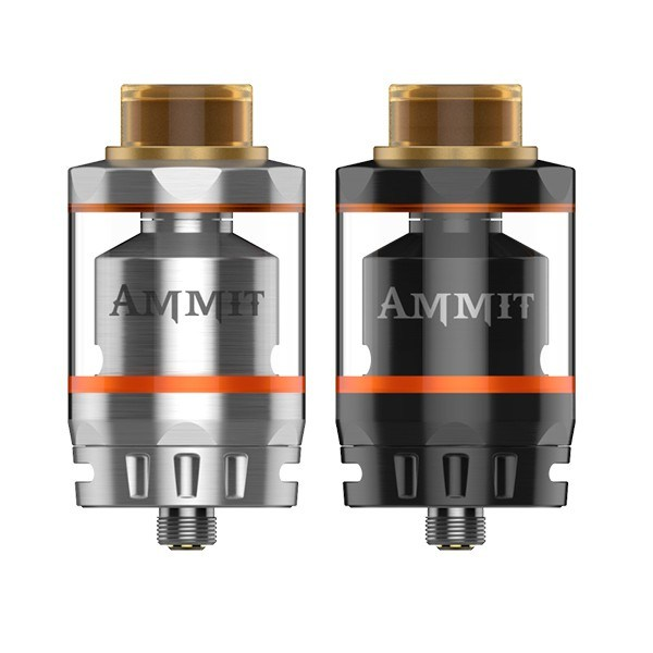 Geekvape Ammit Dual Coil Rta Tank with 3ml/6ml Capacity Ammit Dual Coil Version