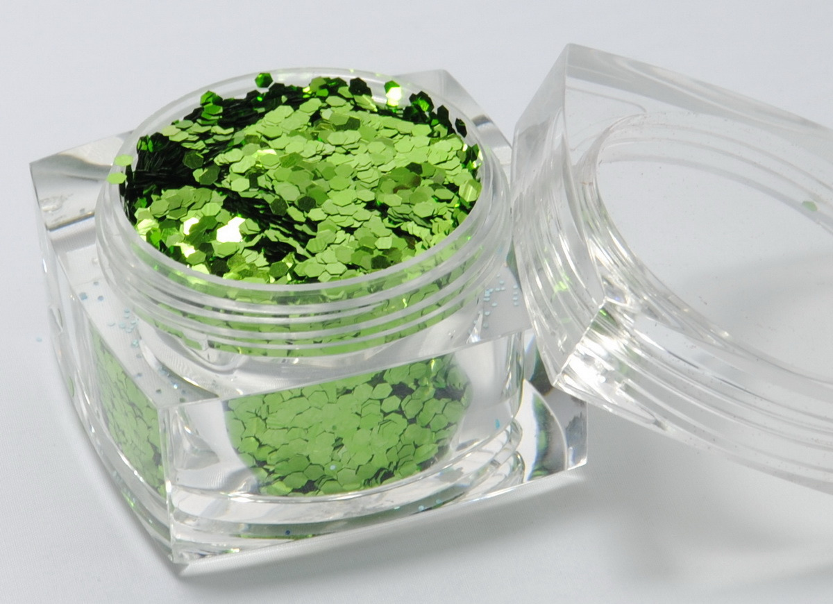 Glitter Powder-Cosmetic Grade (Foliage Green TLC507) - China Glitter