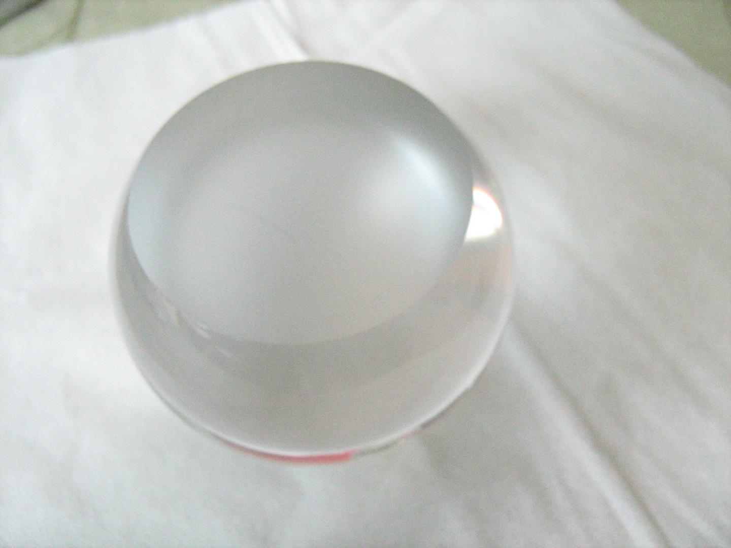 China glass ball with bottom photos pictures made in