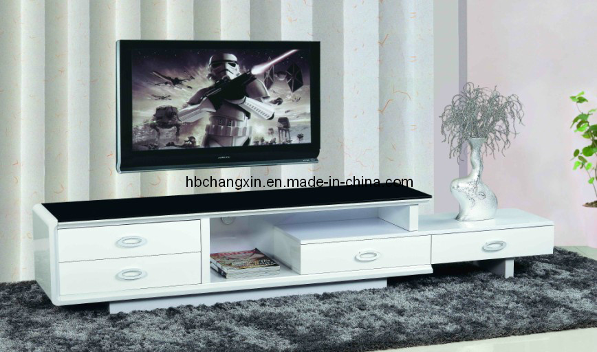 China High Quality Modern Design Living Room Wood TV Stand