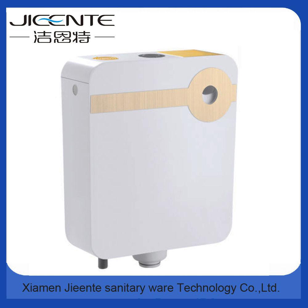 Jet-106A Dual Flush Key Sticker Square Plastic Water Tank