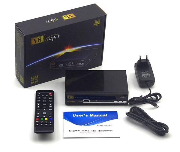 DVB-S2 Digital Satellite Receiver V8 Super Set Top Box