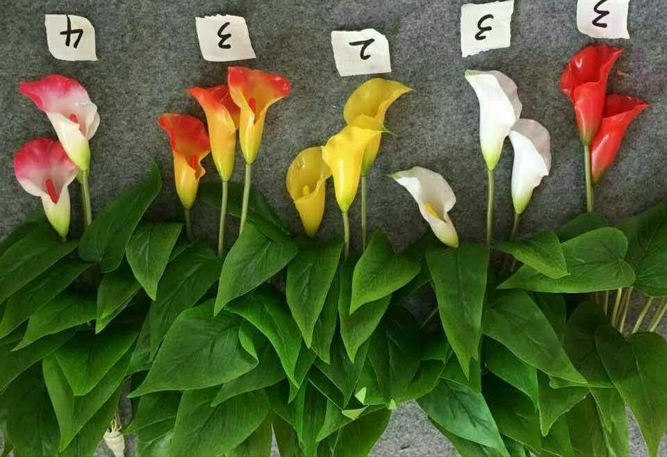 High Quality of Artificial Flowers Calla Lily Bush Gu1495809502928