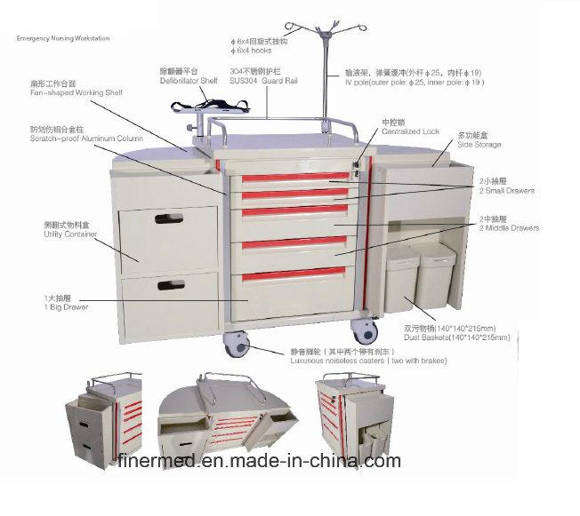 Multi-Function Emergency Nursing Cart